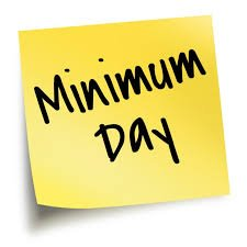 Image result for minimum day clipart